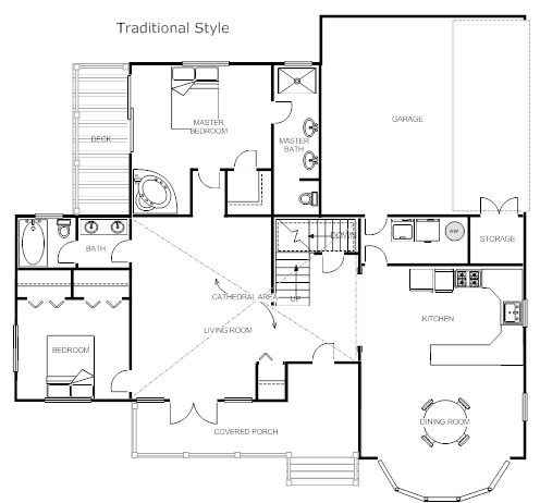 Traditional Style Home Blueprint L House Plan Templates Free On Tiny House On Wheels Floor Plans Blueprint For Construction